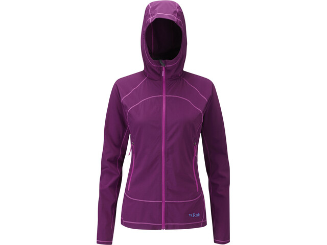 Rab Lunar Jacket Damen berry